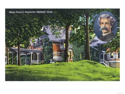 Hartford, Connecticut - Exterior View of the Mark Twain Memorial No. 2