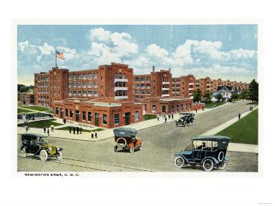 Bridgeport, Connecticut - Exterior View of the Remington Arms, UMC