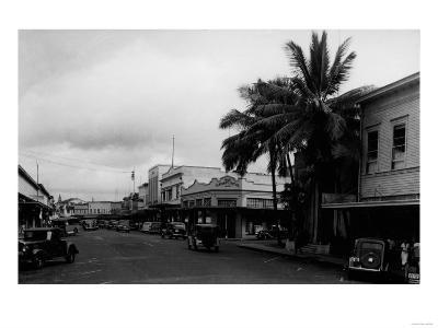 Hilo, Hawaii - Street View Photograph