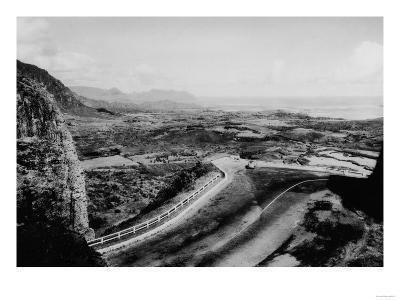 Honolulu, Hawaii - View of the Pali Photograph