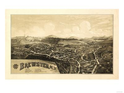 Brewster, New York - Panoramic Map