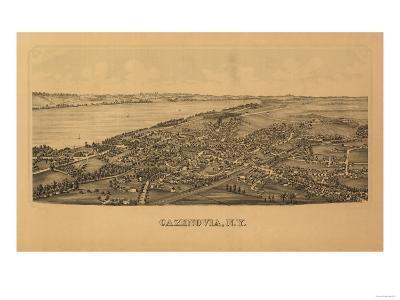 Cazenovia, New York - Panoramic Map