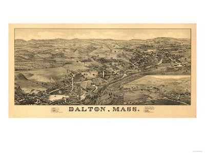 Dalton, Massachusetts - Panoramic Map