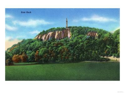 New Haven, Connecticut - View of East Rock