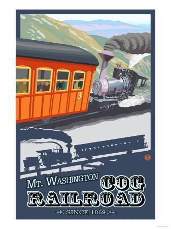 Mount Washington, New Hampshire - Cog Railroad