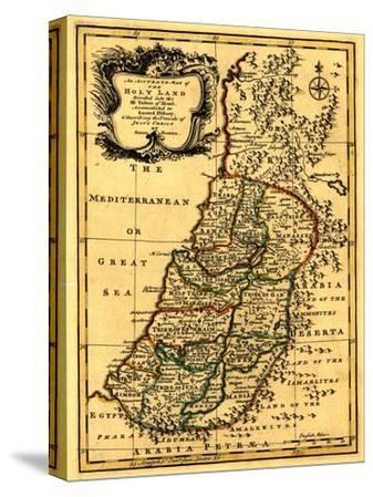 The Tribes of Israel in Palestine - Panoramic Map
