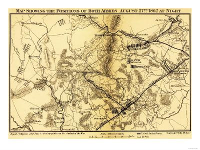 Second Battle of Bull Run - Civil War Panoramic Map