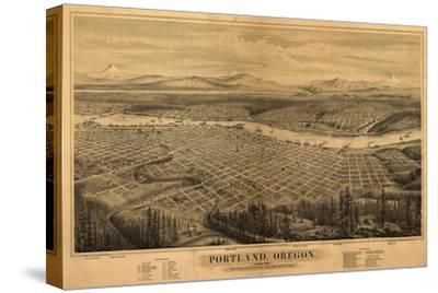 Oregon - Map of Portland