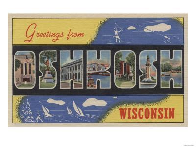 Oshkosh, Wisconsin - Large Letter Scenes