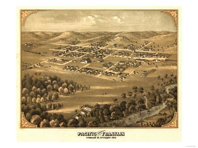 Pacific, Missouri - Panoramic Map