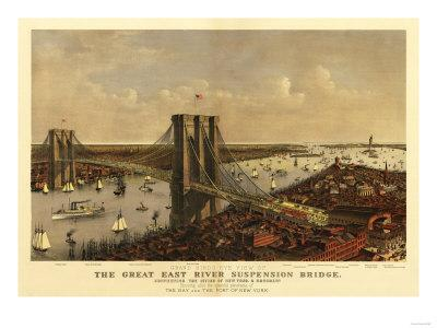 New York City, New York - Panoramic Map