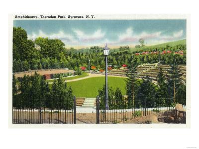 Syracuse, New York - Thornden Park Amphitheatre View