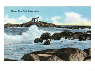 York, Maine - View of the Nubble Lighthouse