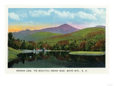 White Mountains, New Hampshire - Indian Head and Shadow Lake View