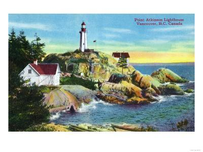Vancouver, Canada - View of Point Atkinson Lighthouse