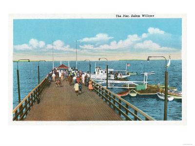 Salem, Massachusetts - View of the Salem Willows Pier