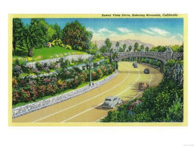 Buena Vista Drive, Entering Riverside - Riverside, CA