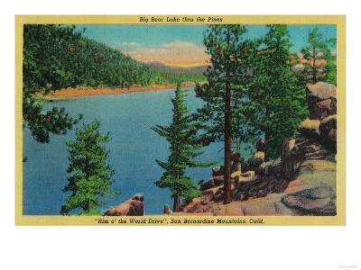 Big Bear Lake View on Rim o' The World Drive - Big Bear Lake, CA