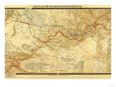 Russia - Panoramic Map