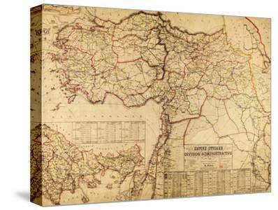 Turkey, Ottoman Empire - Panoramic Map