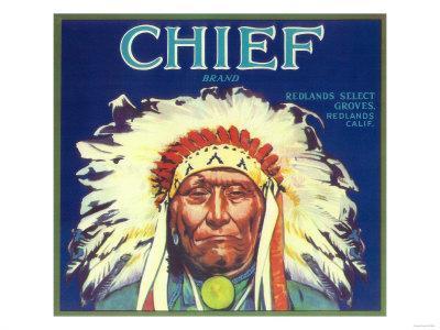 Chief Orange Label - Redlands, CA