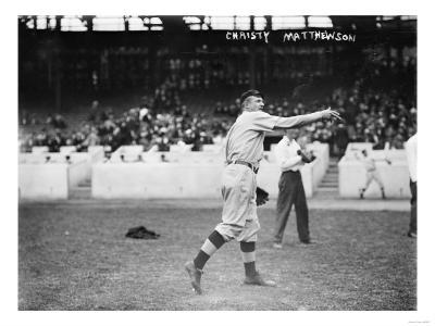 Christy Mathewson, New York Giants, Baseball Photo No.3 - New York, NY