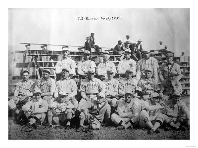Cleveland Indians Team, Baseball Photo - Cleveland, OH