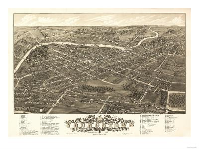 Youngstown, Ohio - Panoramic Map
