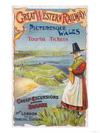 Great Western Railray Promo Tours to Wales from London - Wales, England
