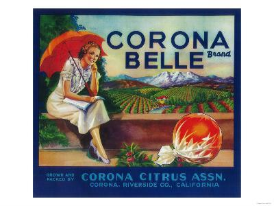 Corona Belle Orange Label - Corona, CA