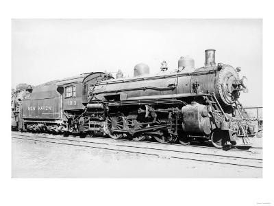 Locomotive Engine No.1013 New Haven Photograph - New Haven, CT