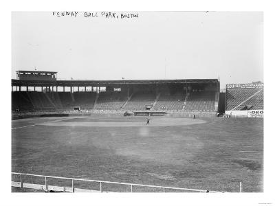Fenway Boston Red Sox Baseball Field View Photograph - Boston, MA