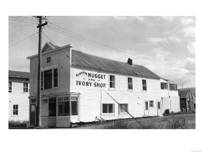Klondike Gold Nugget and Ivory Shop Alaska Photograph - Alaska