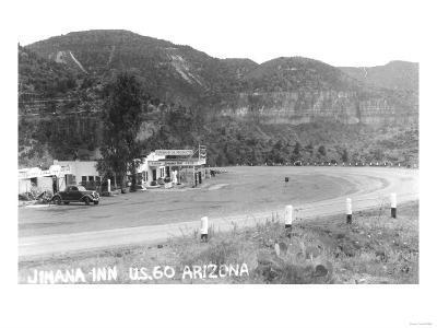 Jimana Inn on US 60 Arizona Photograph - Arizona