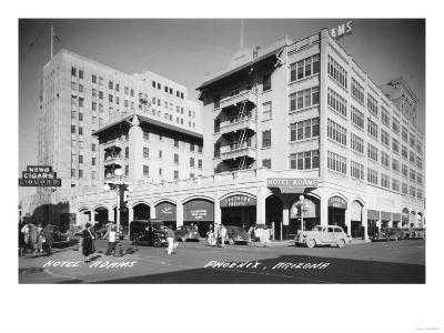 Hotel Adams in Phoenix, Arizona Photograph - Phoenix, AZ