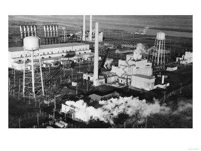 Hanford, WA Industrial Plant Photograph - Hanford, WA