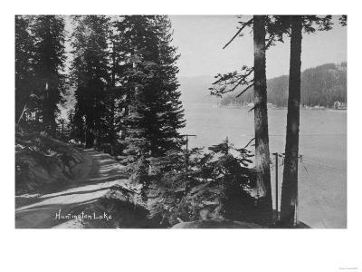 Huntington Lake, California View from Road Photograph - Huntington Lake, CA