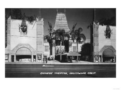 Hollywood, California Chinese Theatre View Photograph - Hollywood, CA