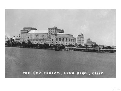 Long Beach, California Auditorium View Photograph - Long Beach, CA