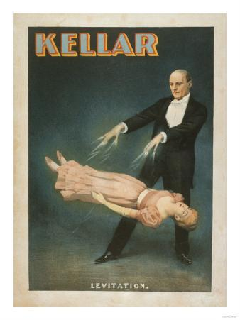 Kellar Levitation Magic Poster No.1