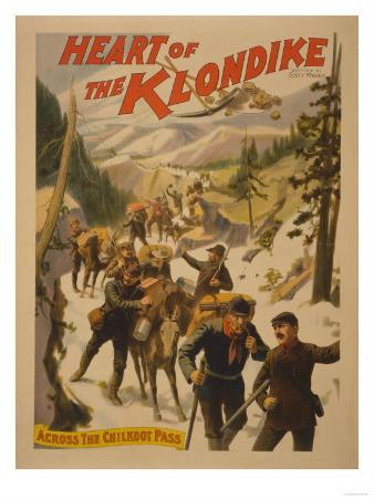 Heart of the Klondike - Across Chilkoot Pass Poster