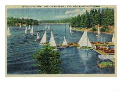 Lake Arrowhead, CA Yacht Club Racing - Lake Arrowhead, CA