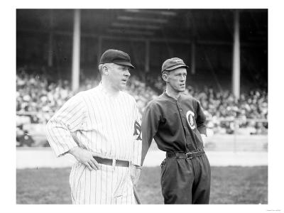 McGraw, NY Giants, Evers, Chicago Cubs, Baseball Photo - New York, NY