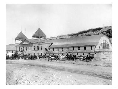 Exterior of the Largest Plunge Bath House in the US Photograph - Hot Springs, SD