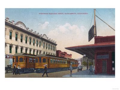 Northern Electric Rail Depot - Sacramento, CA