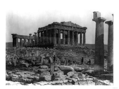 The Parthenon in Athens Photograph - Athens, Greece