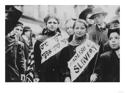 Protest Against Child Labor in Labor Parade Photograph - New York, NY