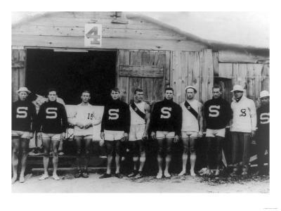 Stanford Varsity Rowing Crew Photograph - Poughkeepsie, NY