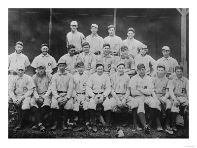 Pittsburgh Pirates Team, Baseball Photo No.1 - Pittsburgh, PA