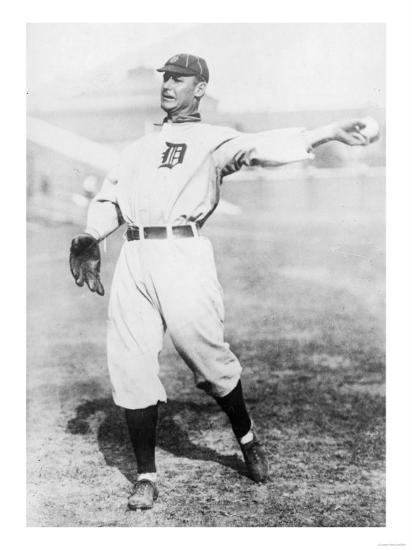 Sam Crawford Detroit Tigers Baseball Photo No 1
